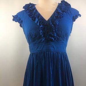 Maggy London Sapphire Blue Dress